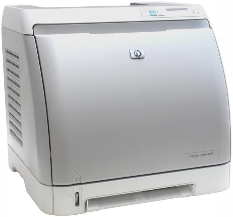 hp color laserjet 2605 драйвера: