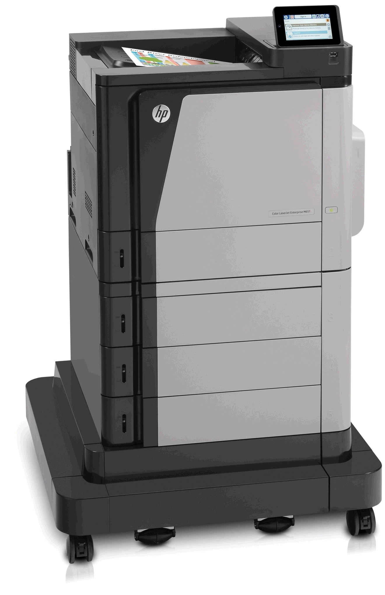 Color Laserjet Enterprise M651XH