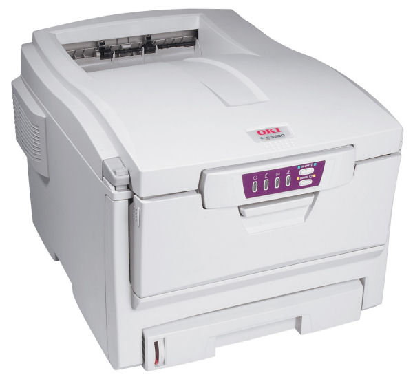 Где расположены предохранители и чипы на расходных материалах цветных принтеров oki?
