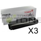 Brother TN2320 - Pack de 3 cartouches de toner compatibles