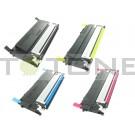 Samsung CLTC406S, CLTY406S, CLTM406S, CLTK406S - Pack de 4 cartouches compatibles 4 couleurs