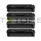 HP 203X - Pack de 4 cartouches de toner compatibles 203X