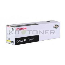 Canon 0259B002 - Cartouche toner d'origine jaune CEXV17