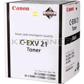 Canon 0452B002 - Cartouche toner d'origine noir CEXV21