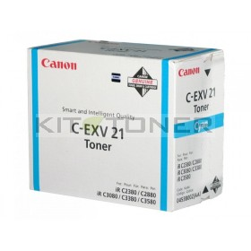 Canon 0453B002 - Cartouche toner d'origine cyan CEXV21