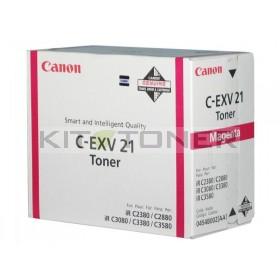 Canon 0454B002 - Cartouche toner d'origine magenta CEXV21