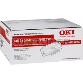 Oki 1240001 - Cartouche de toner de marque