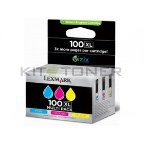 Lexmark 14N0850 - Multipack Cartouches d'encre couleur