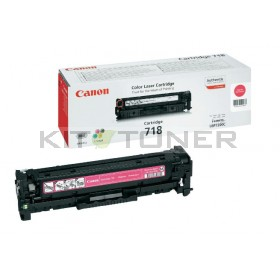 Canon 2660B002 - Cartouche toner d'origine magenta 718