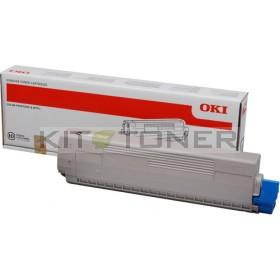 Oki 44844508 - Cartouche de toner noire d'origine