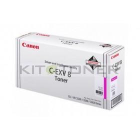Canon 7627A002 - Cartouche toner d'origine magenta CEXV8