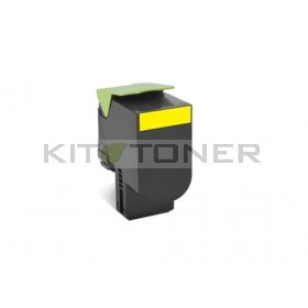 Lexmark 80C2SY0 - Toner jaune de marque