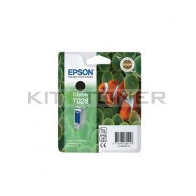 Epson C13T026401 - Cartouche d'encre noire de marque T026401