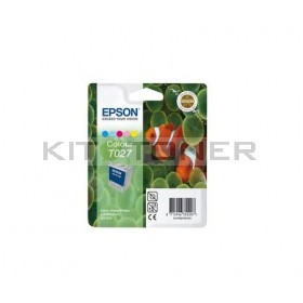 Epson C13T027401 - Cartouche d'encre couleur de marque T027401