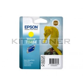 Epson C13T048440 - Cartouche d'encre jaune de marque T0484
