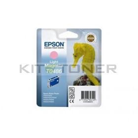 Epson C13T048640 - Cartouche d'encre magenta clair de marque T0486
