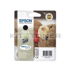 Epson C13T06114010 - Cartouche d'encre Epson Durabrite noire T0611