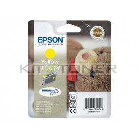 Epson C13T06144010 - Cartouche d'encre Epson Durabrite jaune T0614