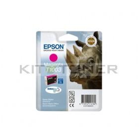 Epson C13T10034010 - Cartouche d'encre magenta de marque T1003