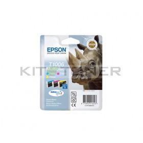 Epson C13T10064010 - Pack de 3 cartouches d'encre Epson T1006