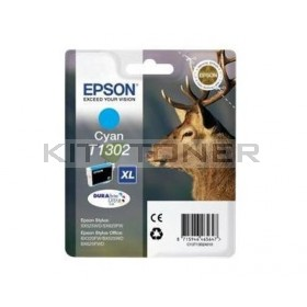 Epson C13T13024010 - Cartouche d'encre Durabrite cyan XL T1302