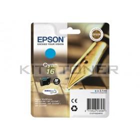 Epson C13T16224010 - Cartouche d'encre cyan d'origine T1622