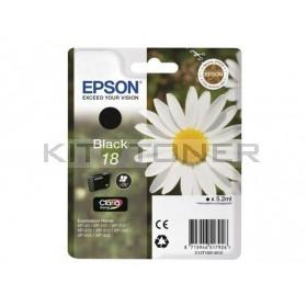 Epson C13T18014010 - Cartouche d'encre noire de marque T1801
