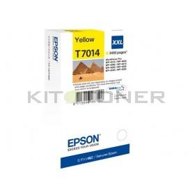 Epson C13T70144010 - Cartouche d'encre jaune Epson T7014