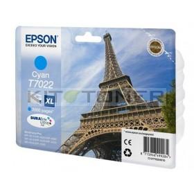 Epson C13T70224010 - Cartouche d'encre cyan Epson T7022