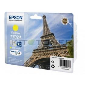 Epson C13T70244010 - Cartouche d'encre jaune Epson T7024
