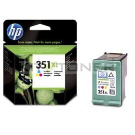 HP CB338EE - Cartouche d'encre couleur d'origine 351XL