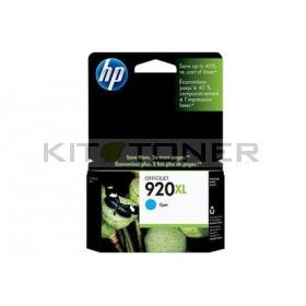 HP CD972AE - Cartouche d'encre originale cyan 920XL