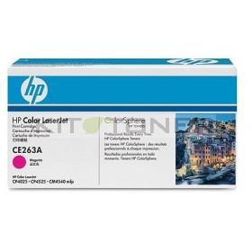 HP CE263A - Cartouche de toner d'origine magenta 648A
