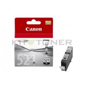Canon CLI521BK - Cartouche d'encre origine noire 2933B001
