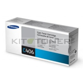 Samsung CLTC405S - Cartouche toner d'origine cyan