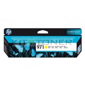 Cartouche HP 971 - Cartouche d'encre jaune de marque HP CN624AE