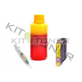 Epson C13T07144011 - Kit cartouche rechargeable compatible jaune