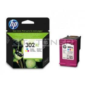 HP F6U67AE - Cartouche d'encre couleur originale HP 302 XL