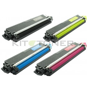 Brother TN246C, TN246Y, TN246M, TN246K - Pack de 4 toners compatibles 4 couleurs