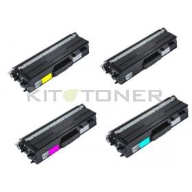 Brother TN423C, TN423Y, TN423M, TN423K - Pack de 4 toners compatibles 4 couleurs