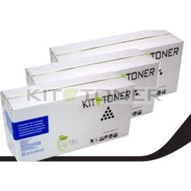 Brother TN3060 - Pack de 3 cartouches de toner compatibles
