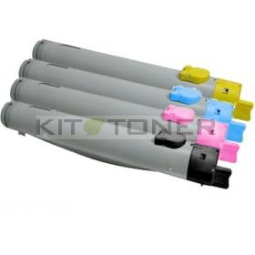 Dell 59310121, 59310125, 59310123, 59310119 - Pack de 4 toners compatibles 4 couleurs
