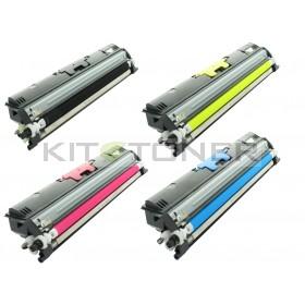Epson S050556, S050554, S050555, S050557 - Pack de 4 toners compatibles 4 couleurs