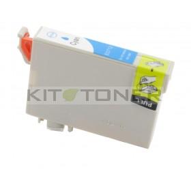 Epson C13T07124011 - Cartouche d'encre compatible cyan T0712