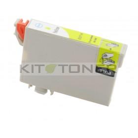 Epson C13T07144011 - Cartouche d'encre compatible jaune T0714