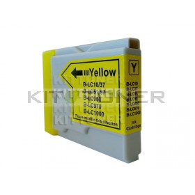 Brother LC970Y - Cartouche d'encre compatible jaune