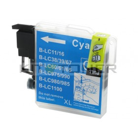 Brother LC980C - Cartouche d'encre compatible cyan