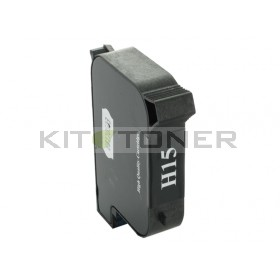 HP C6615D - Cartouche d'encre compatible noire 15