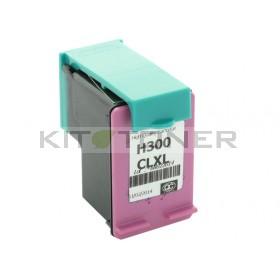 HP CC644EE - Cartouche d'encre compatible couleur 300 XL