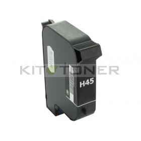 HP 51645A - Cartouche d'encre compatible noire 45